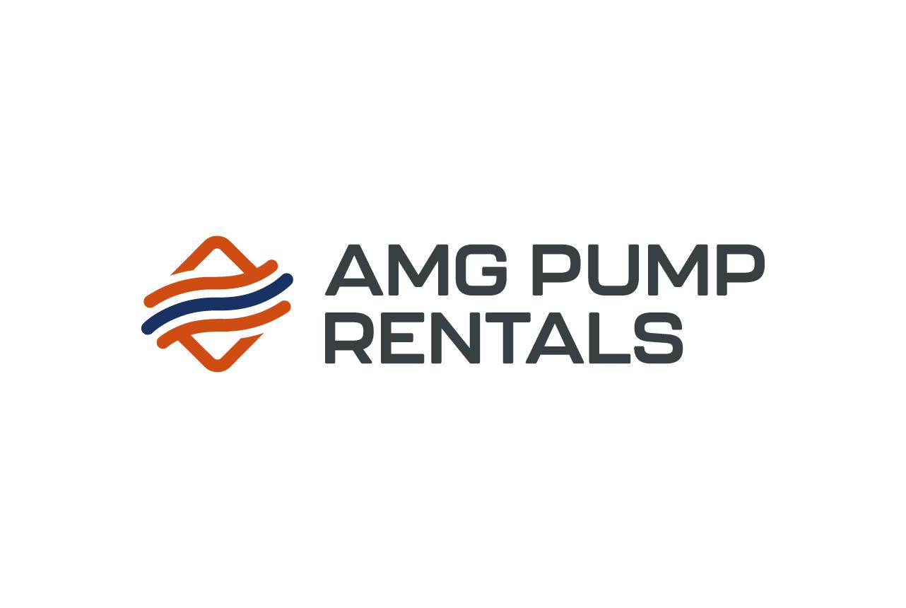 Amg pump rentals logo