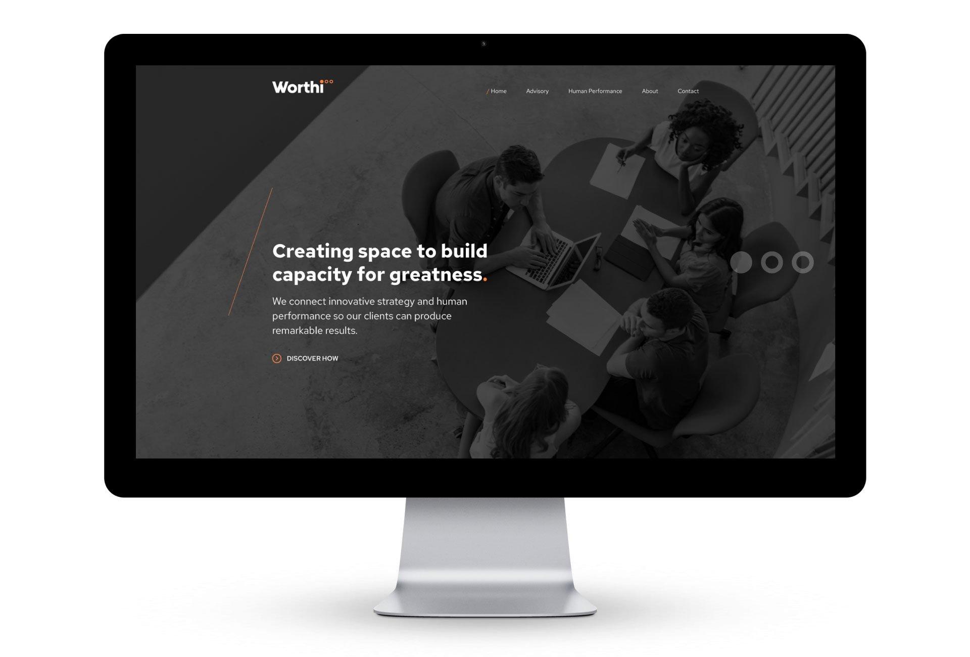 worthi web design perth
