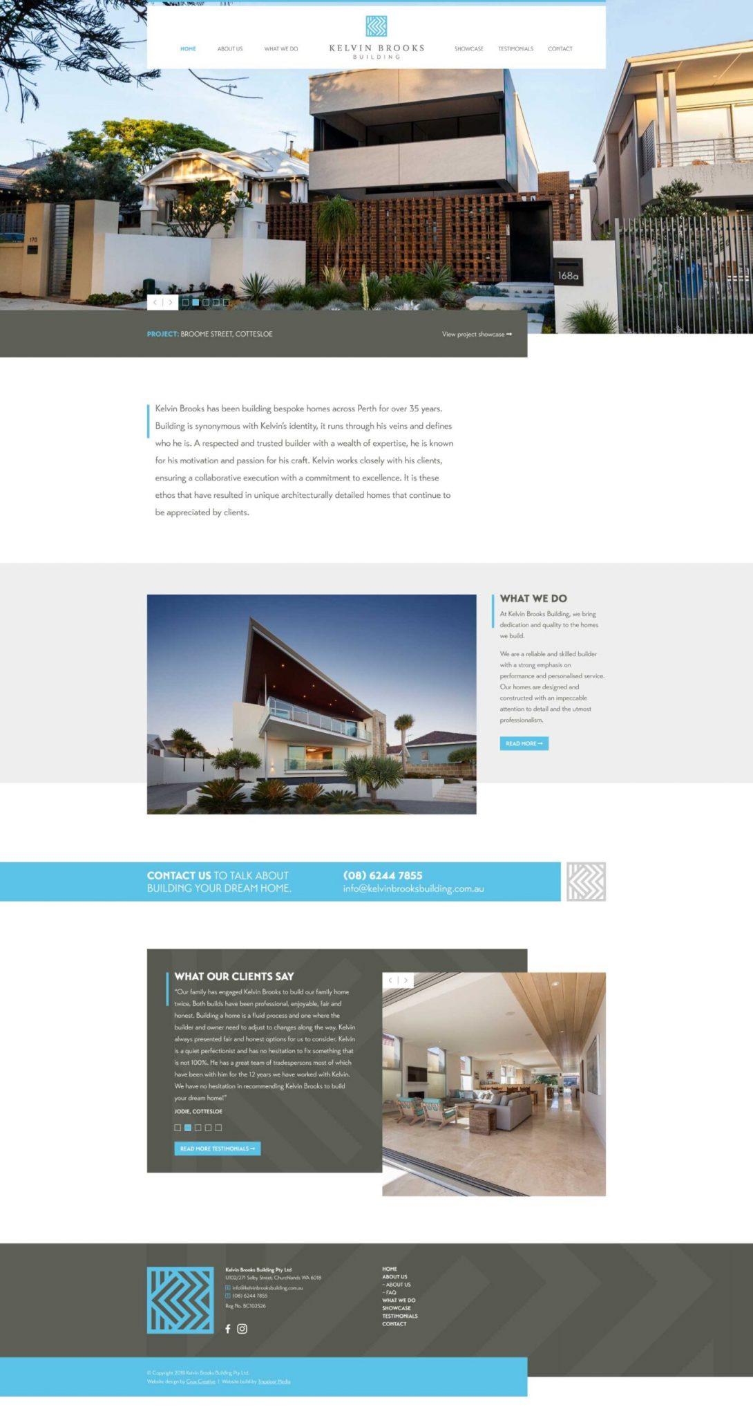 web design mockup kelvin brooks