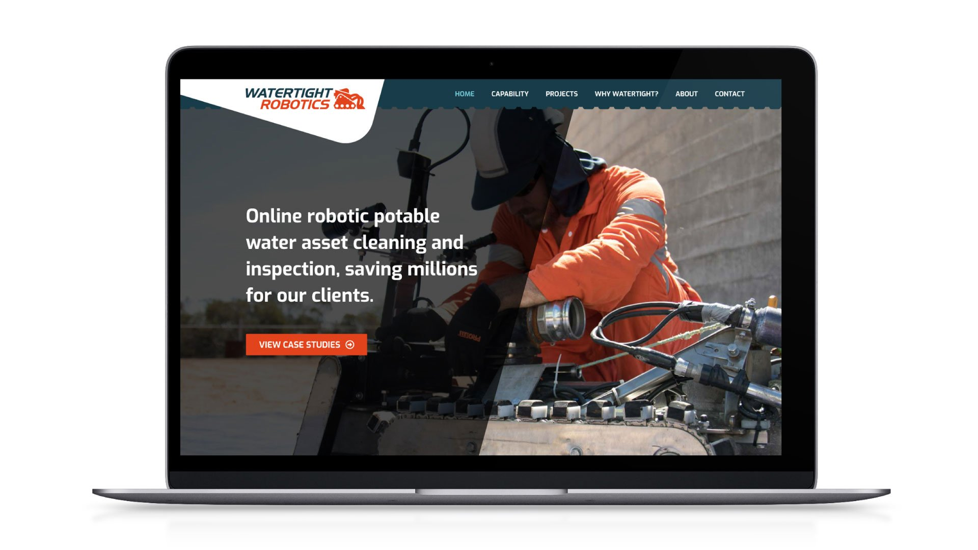 web design perth watertight robotics