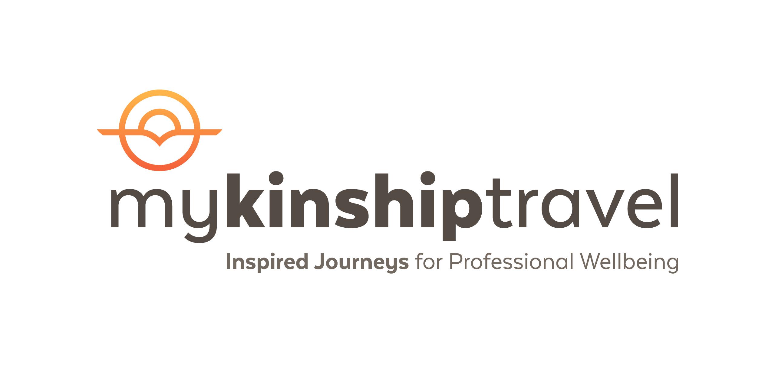 my kinship travel Brand strategy Logo creation Web design Identity design
