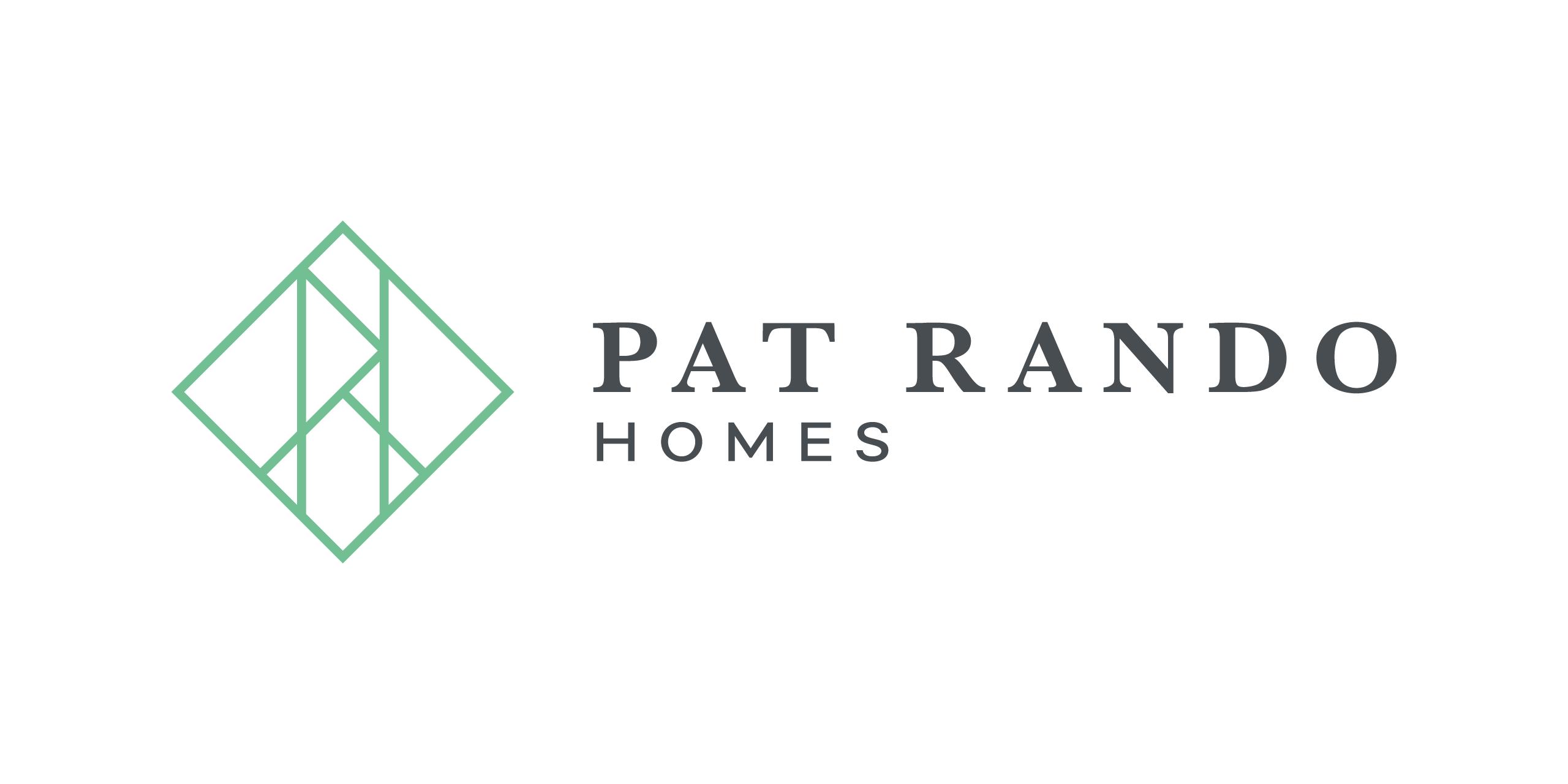 logo design pat rando homes perth