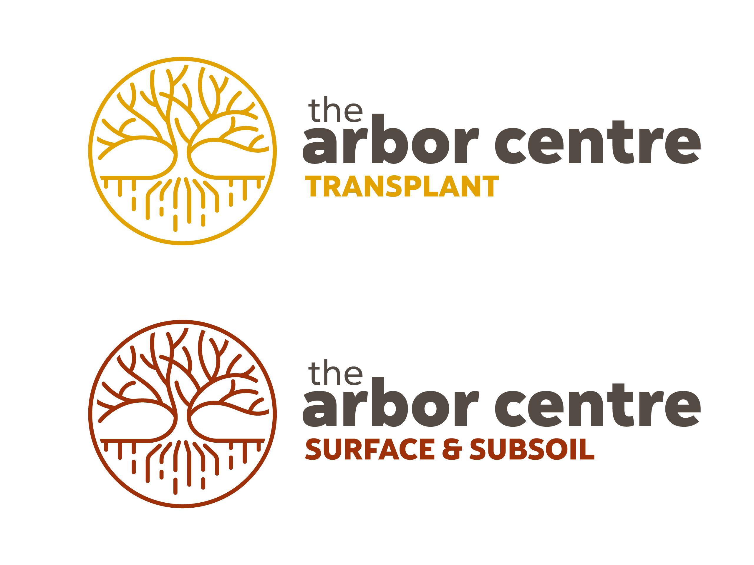 the arbor centre logo design