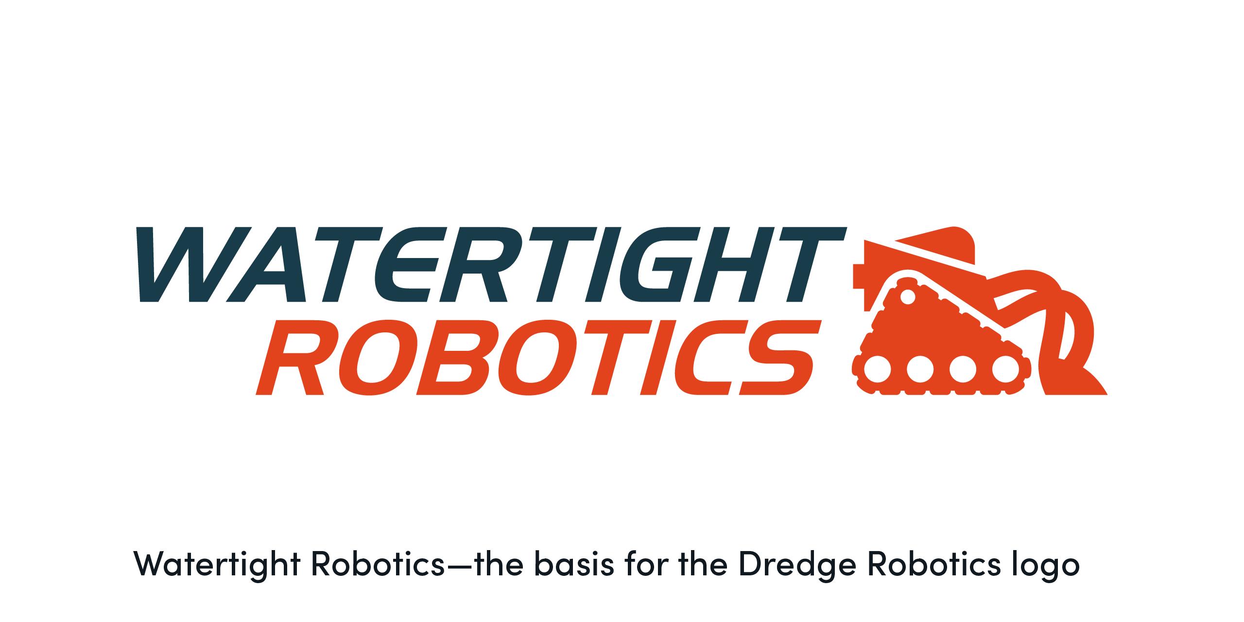 watertight robotics logo design crux